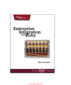 Enterprise Integration with Ruby – Free Pdf Book