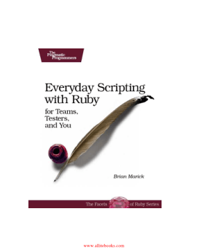 Everyday Scripting with Ruby – Free Pdf Book