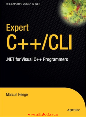 Expert Visual C++CLI – Free Pdf Book