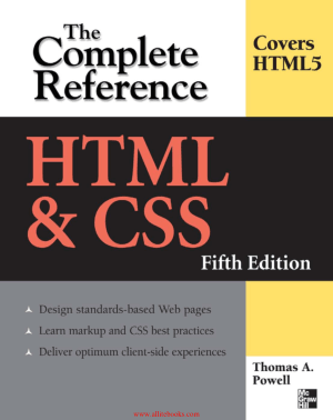 Html And Css The Complete Reference 5th Edition Free Pdf Book Pdf Book Free Pdf Books