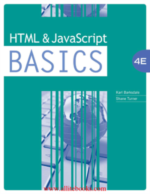 HTML and JavaScript BASICS 4th Edition – Free Pdf Book