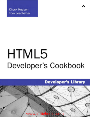 HTML5 Developers Cookbook – Free Pdf Book