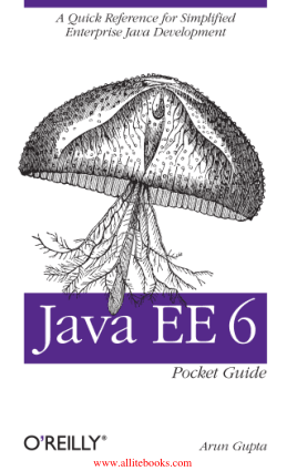 Java EE 6 Pocket Guide – Free Pdf Book