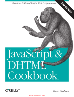 JavaScript – DHTML Cookbook 2nd Edition – FreePdfBook