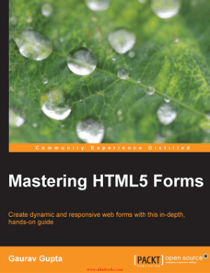 Mastering HTML5 Forms – FreePdfBook