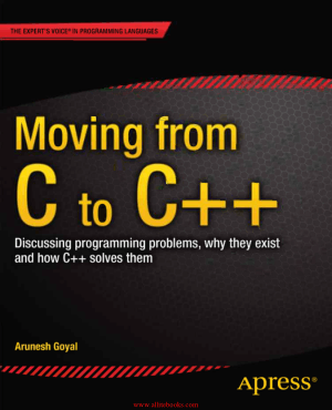 Moving from C to C++ – FreePdfBook