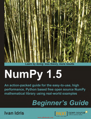 NumPy 1.5 Python based Beginners Guide – FreePdfBook