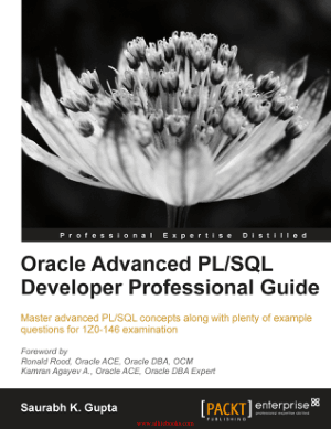 Oracle Advanced PLSQL Developer Professional Guide – FreePdfBook