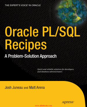 Oracle PLSQL Recipes – FreePdfBook