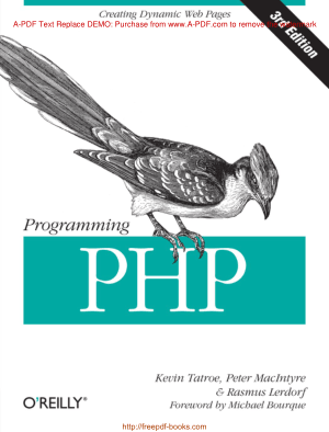 Programming PHP 3rd Edition
