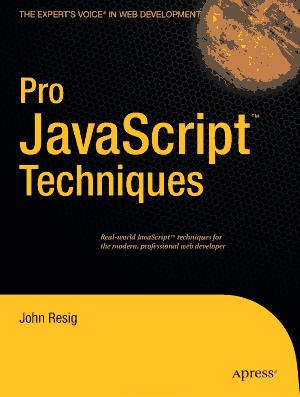 Pro JavaScript Techniques – FreePdfBook