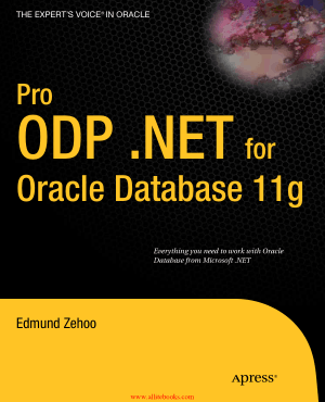 Free Download PDF Books, Pro ODP.NET for Oracle Database 11g – FreePdfBook