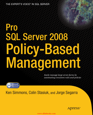 Pro SQL Server 2008 Policy-Based Management – FreePdfBook
