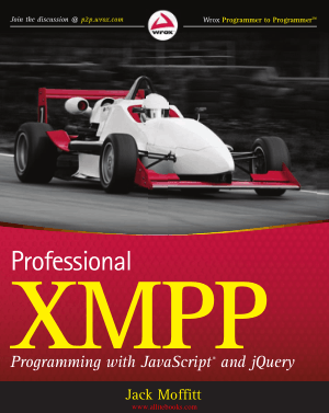 Professional XMPP Programming with JavaScript and jQuery – FreePdfBook