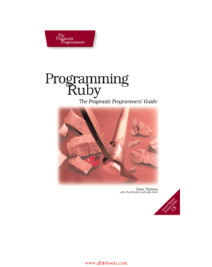 Programming Ruby 2nd Edition – FreePdfBook