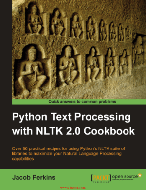 Python Text Processing with NLTK 2.0 Cookbook – FreePdfBook