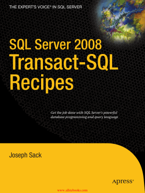 SQL Server 2008 Transact-SQL Recipes – FreePdfBook