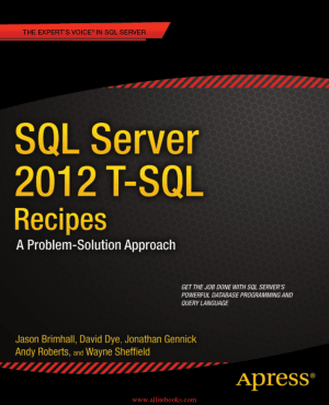 SQL Server 2012 T-SQL Recipes 3rd Edition – FreePdfBook
