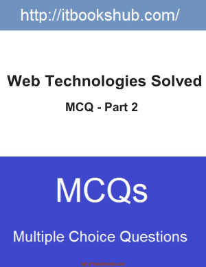 Web Technologies Solved MCQ Part 2