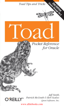 Toad Pocket Reference for Oracle 2nd Edition – FreePdfBook