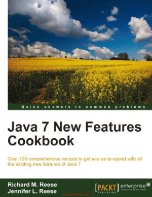 Java 7 New Features Cookbook – FreePdfBook
