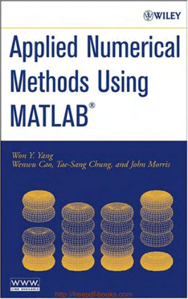 Applied Numerical Methods Using Matlab, Pdf Free Download