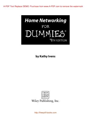 Home Networking For Dummies 4th Edition