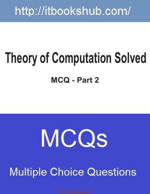 Theory Of Computation Solved MCQ Part 2