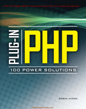 Plug In PHP 100 Power Solutions