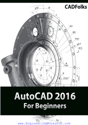AutoCAD 2016 For Beginners, Free Ebooks Online