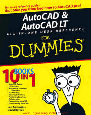 AutoCAD AutoCAD LT All in one Desk Reference for Dummies