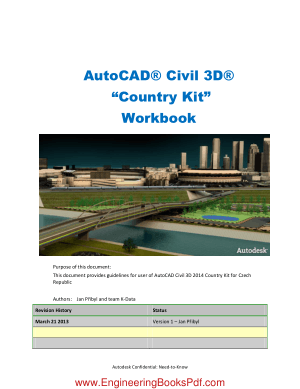 AutoCAD Civil 3D Country Kit Workbook