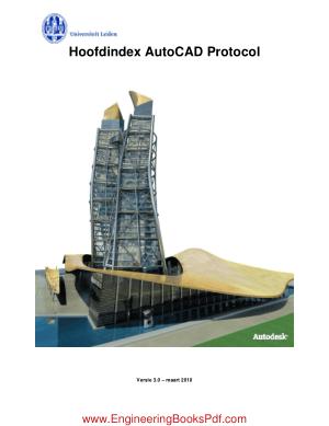 Free Download PDF Books, Hoofdindex AutoCAD Protocol