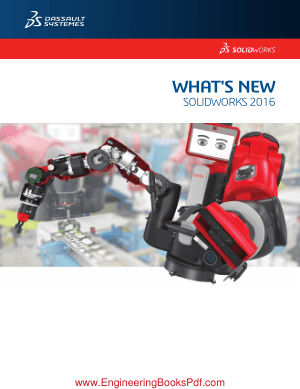 Free Download PDF Books, Whats New SOLIDWORKS 2016 AutoCad