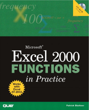 Microsoft Excel 2000 Functions in Practice Book