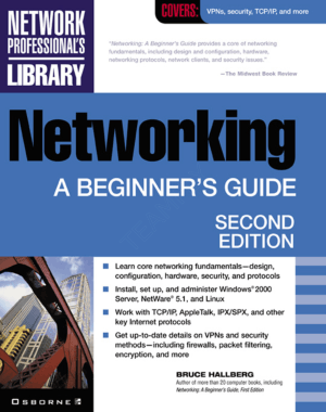 Networking A Beginners Guide Second Edition Book