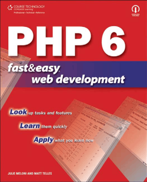 PHP6 Fast And Easy Web Development Book
