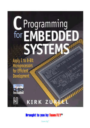 C Programming for Embedded Systems – FreePdf-Books.com