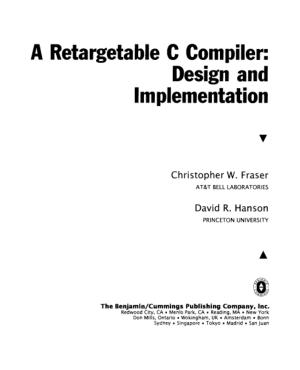 A Retargetable C Compiler Design and Implementation –, Free Ebook Download Pdf
