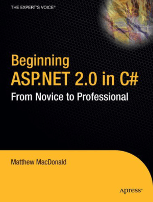 Beginning ASP.NET 2.0 in C# From Novice to Professional –, Best Book to Learn