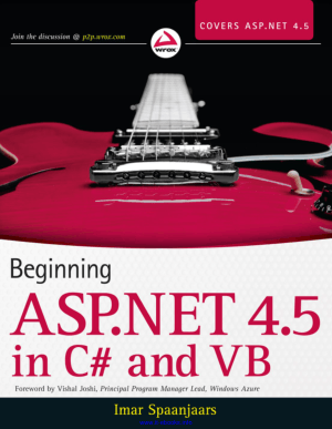 Beginning ASP.NET 4.5 in C# and VB – FreePdf-Books.com