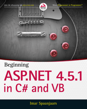Beginning ASP.NET 4.5.1 in C# and VB – FreePdf-Books.com