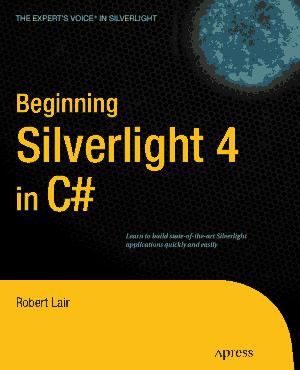Beginning Silverlight 4 in C# – FreePdf-Books.com