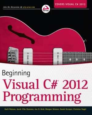 Beginning Visual C# 2012 programming – FreePdf-Books.com
