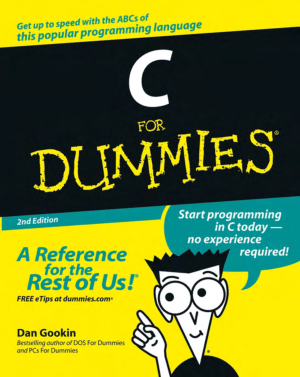 C For Dummies 2nd Edition Book – FreePdf-Books.com