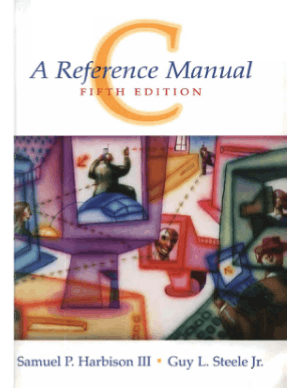 C Programming A Reference Manual 5th Edition Book –, Free Ebook Download Pdf