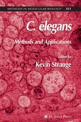 C.elegans Methods and Applications – FreePdf-Books.com