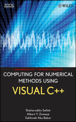Computing for Numerical Methods Using Visual C++ – FreePdf-Books.com