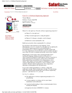 Core C++ a Software Engineering Approach –, Download Full Books For Free