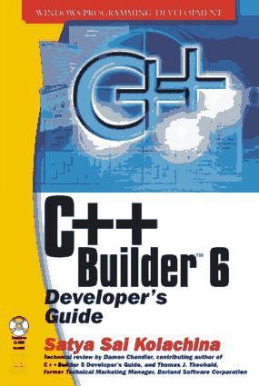 C++ Builder 6 Developers Guide with CDR – FreePdf-Books.com